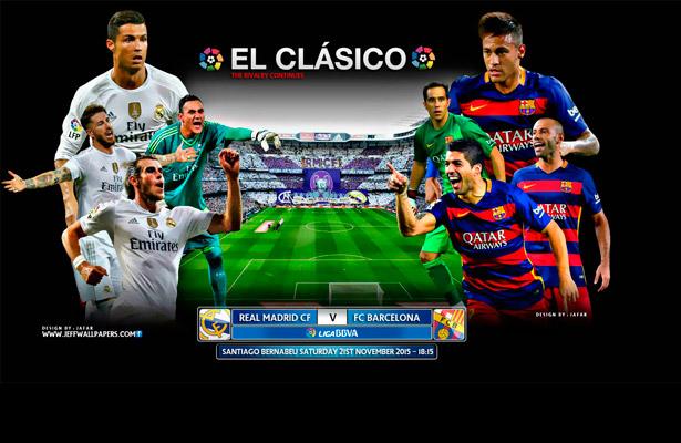 O Passado de Barcelona x Real Madrid - Futebol no Planeta c9b745fb09de0