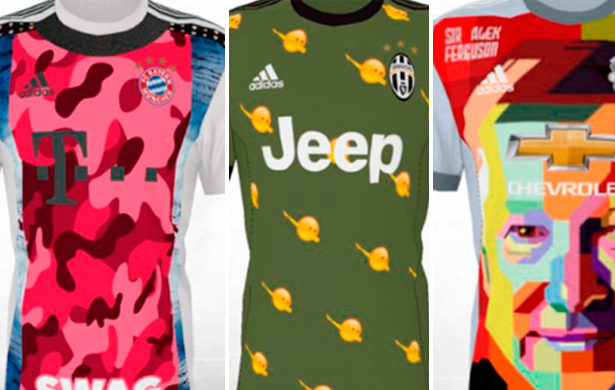 As camisas mais feias criadas por fãs - Futebol no Planeta f1fcd14a4f18c