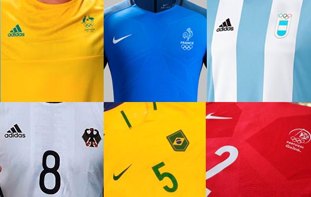 Camisas de Futebol nas Olimpíadas Rio 2016 - Futebol no Planeta 91cd1056a61fd