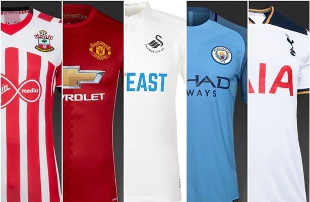 Os uniformes mais bonitos da Premier League 2016-17 - Futebol no Planeta 6f3927b154e42