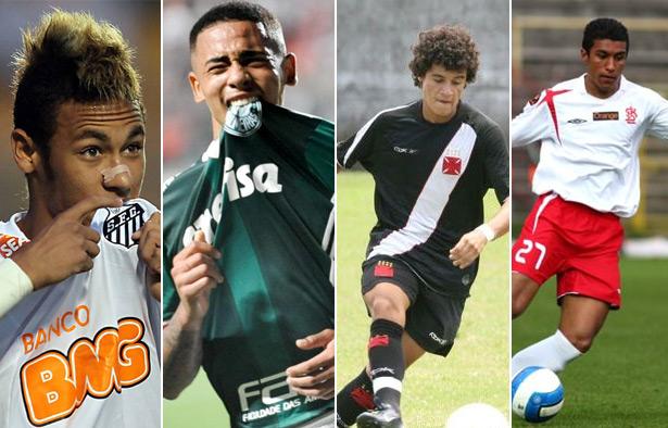 Neymar Santos, Gabriel Jesus Palmeiras Phillipe Coutinho Vasco, Paulinho Osasco Audax
