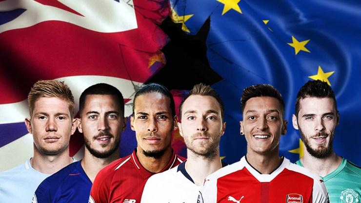 Jogadores estrangeiros na Premier League