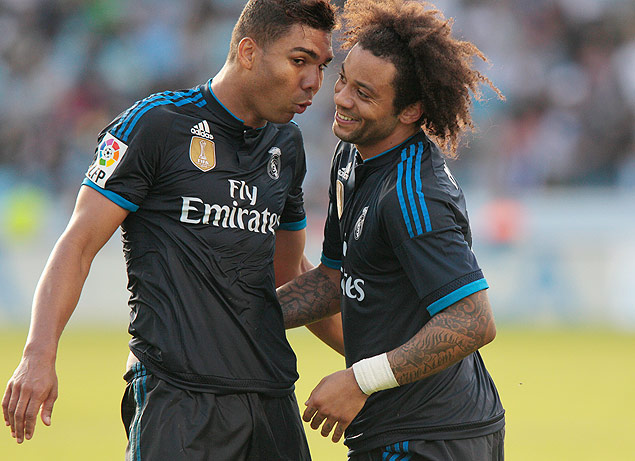 Casemiro e Marcelo Real Madrid