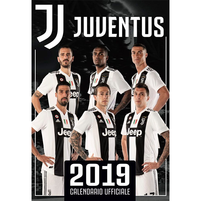 Juventus de 2019 com Leonardo Bonucci, Douglas Costa, Cristiano Ronaldo, Sami Khedira e Mario Mandzikic