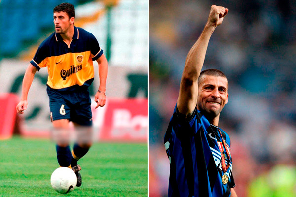 Walter Samuel - Boca Juniors - Internazionale