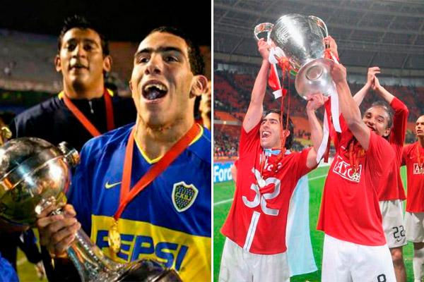 Tevez - Boca Juniors - Manchester United