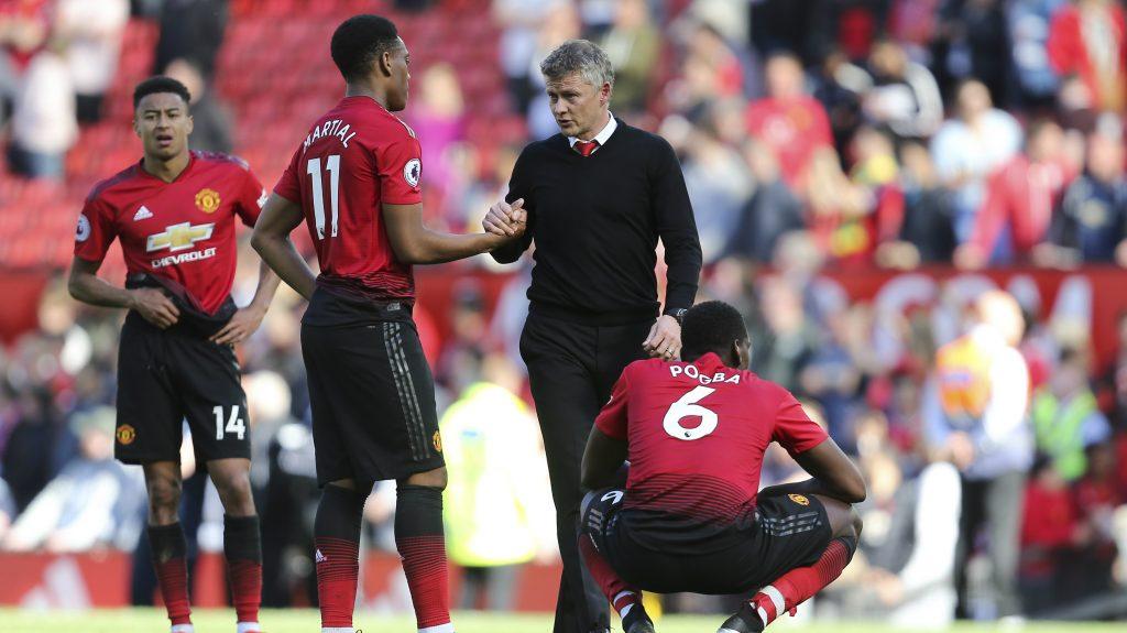 Manchester United - Solkjaer e Martial