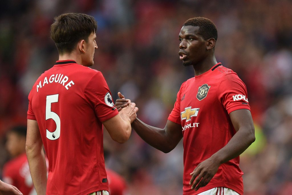 Manchester United - Paul Pogba, Maguire